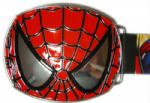Spiderman Mask Belt Buckle with display stand - Officially Licensed